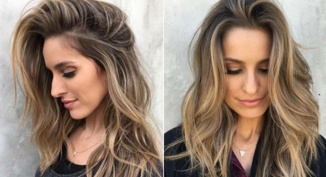 Балаяж на русые волосы: на средние, короткие и длинные волосы (фото)