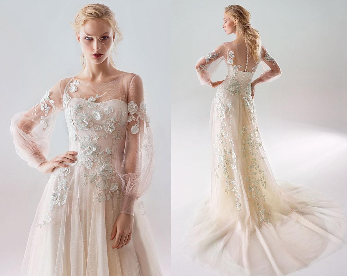 Свадебные платья 2019 – 2020 года: 100 ярких фото-идей, модные ...