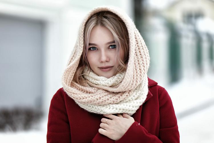 как завязать красиво платок на шее