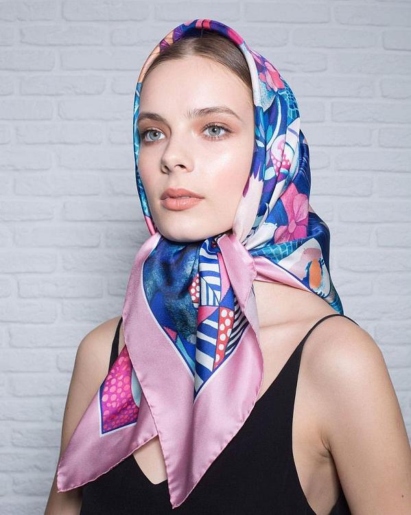 красиво повязать платок на шею