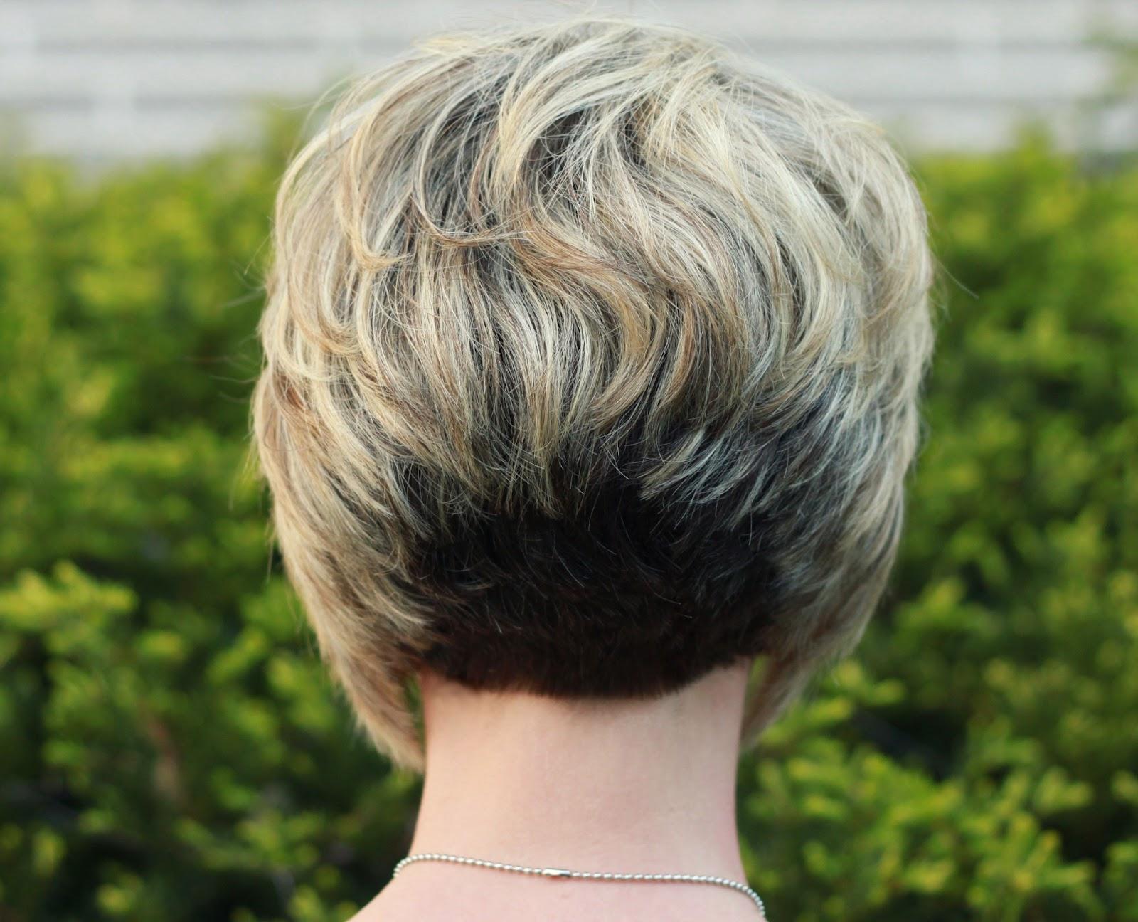 важно иметь стрижка короткие волосы с поднятым затылком фото всей