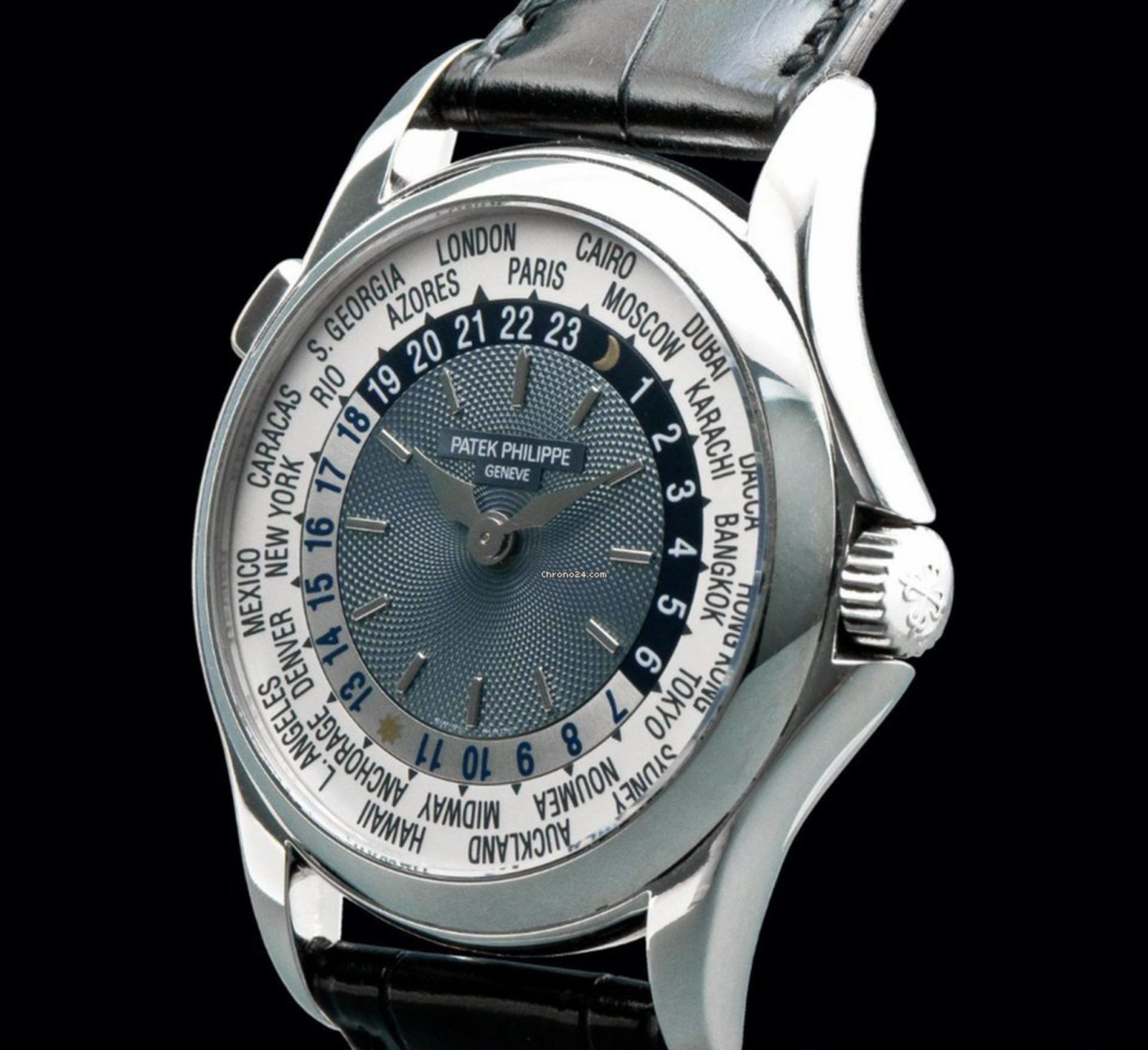 PATEK PHILIPPE PLATINUM WORLD